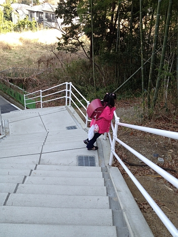 코요엔에서 만난 소녀