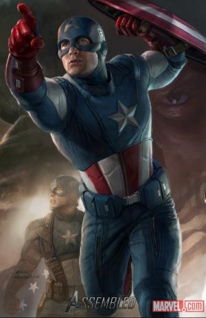어벤저스 잡담(1) - 캡틴 아메리카
