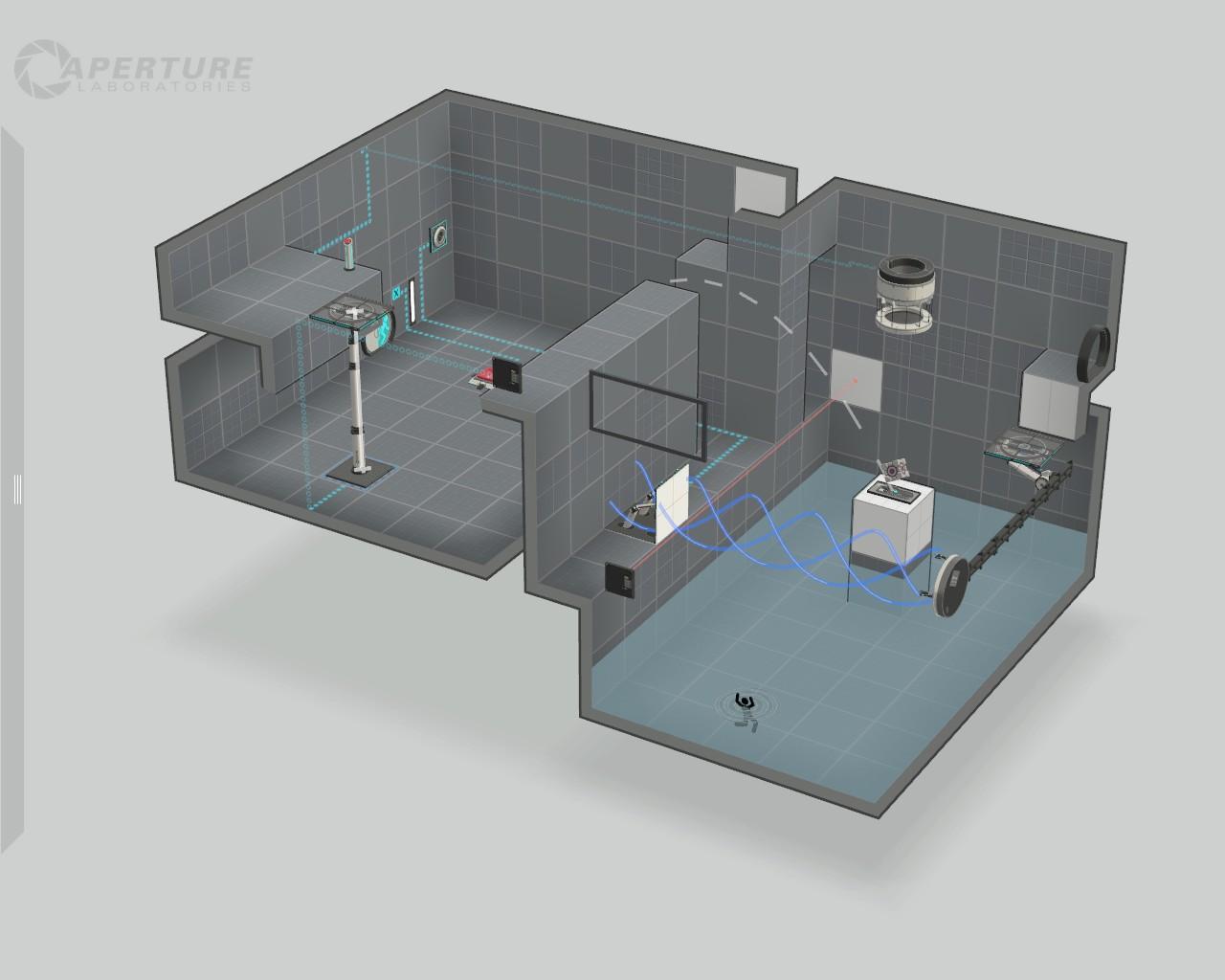 [포탈2] 실험실 제작중