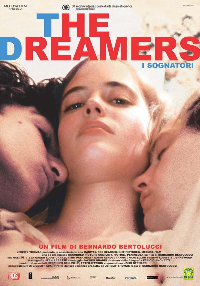몽상가들, The Dreamers, I Sognatori, 2003