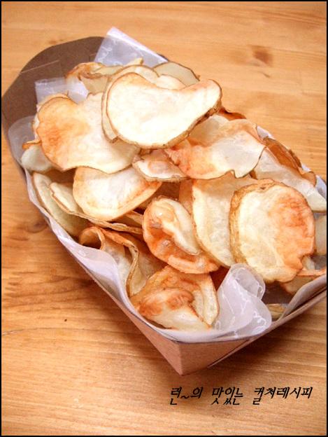 바삭바삭 맛있는 감자칩 만들기
