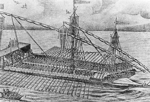유럽의 전장식 함포