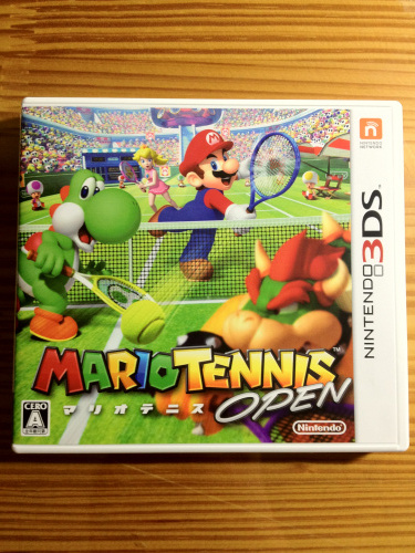 (3DS) 슈퍼마리오 테니스 오픈 오픈샷