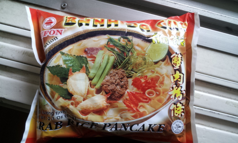 [수입식품]베트남 산 인스턴트 쌀국수, 반다꾸아