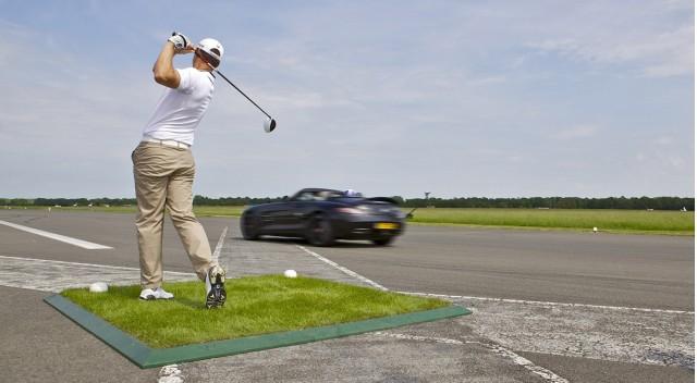 골프공 vs 자동차, Ver.AMG