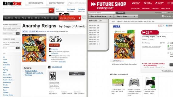 아나키 레인 $29.99에 판매?