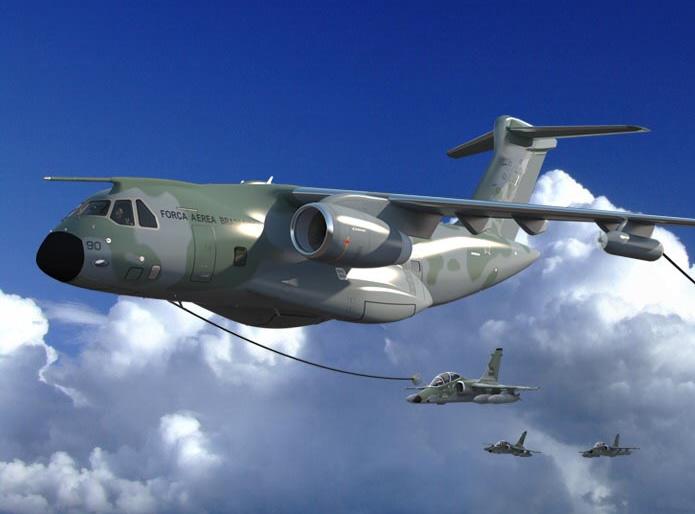 브라질의 KC-390 수송기 프로그램에 협력하는 보잉