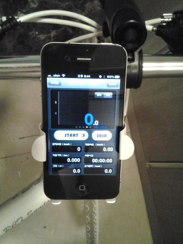 죽어있던 Mio168 PDA 밧데리를 일반 휴대폰 밧데리로..
