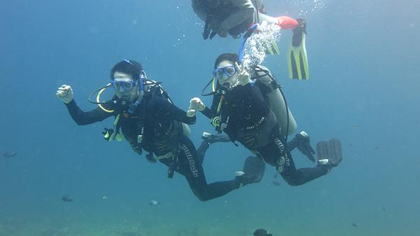 세부에 오픈워터 다이빙 배우러 다녀왔습니다 :)