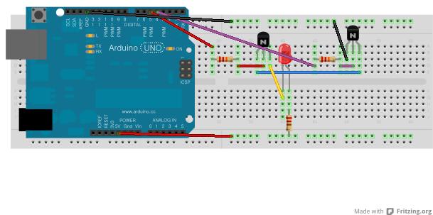 아두이노 프로젝트 #3 - 트랜지스터로 AND Gate..