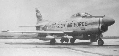 한국공군이 운용했던 R/F-86D/E/F 세이버들(스..