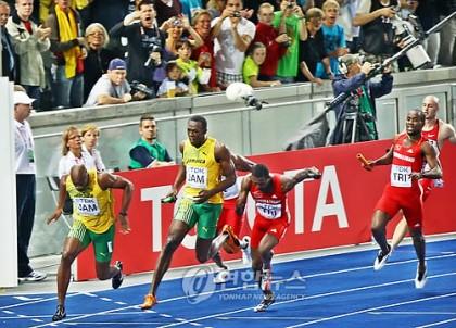 100m 기록으로 보는 자메이카 400m 계주팀의 세계기..