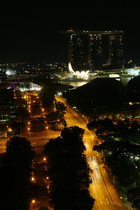 Marina Bay Sands 의 야경을 볼 수 있는 최고의 ..