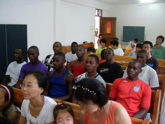 탄자니아 한글학교 태권도 시범