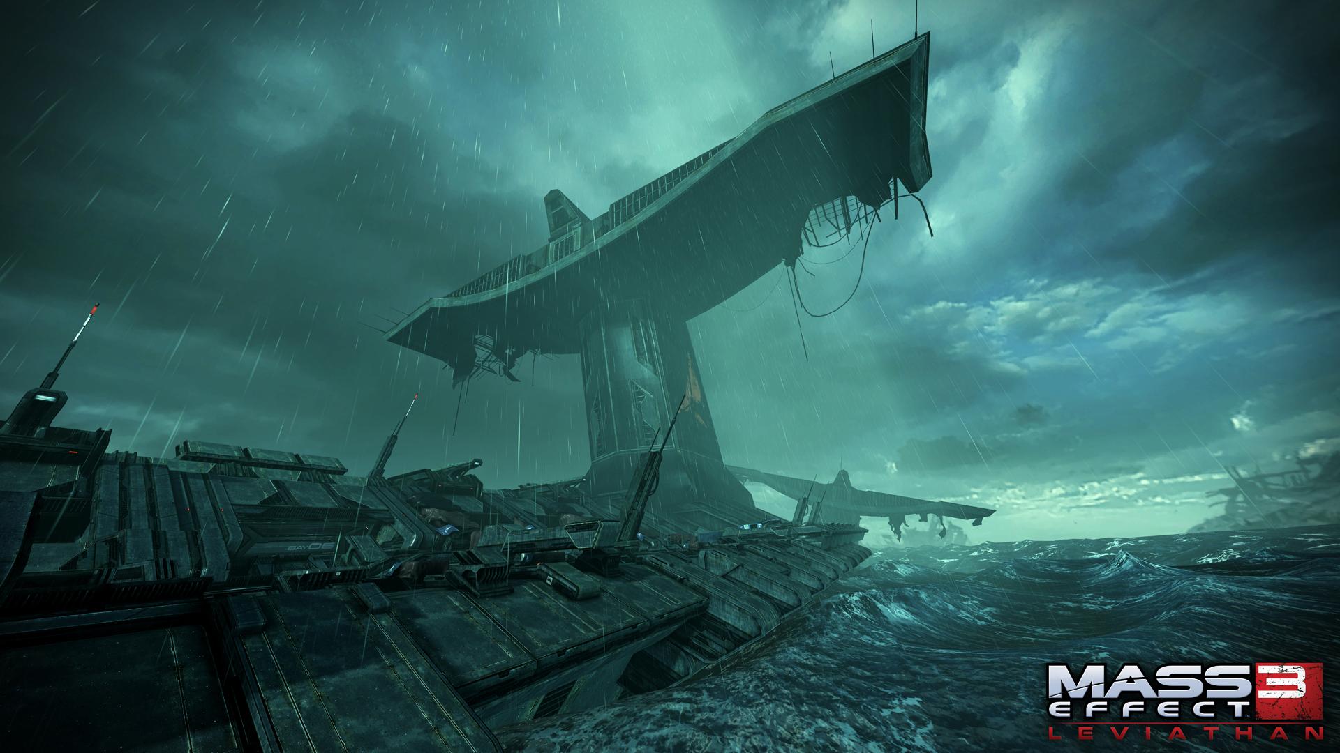 [Mass Effect3] Leviathan DLC 다 했음.