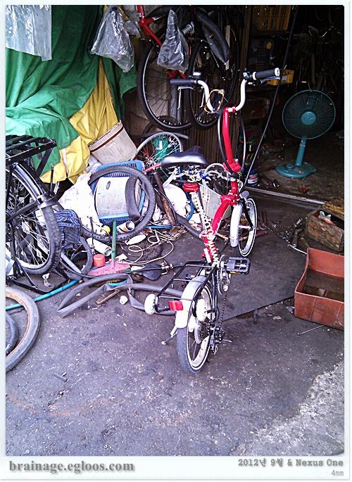 자전거 크랭크 48T로 변경 - 망한걸라나?