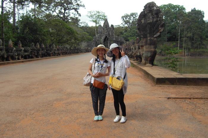 캄보디아 여행 - 120829 - 앙코르 톰, 따 프롬