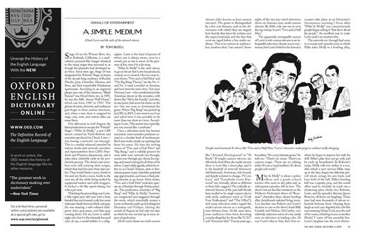 [THE NEW YORKER] Chuck Lorre (ABSTR..