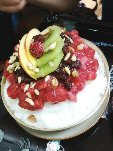 [안국,삼청동] 가배 - 딸기팥빙수, 호박식혜