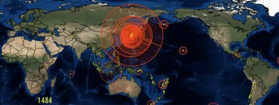 [2ch][정보?] 세계에서 일어나는 대지진을 시..