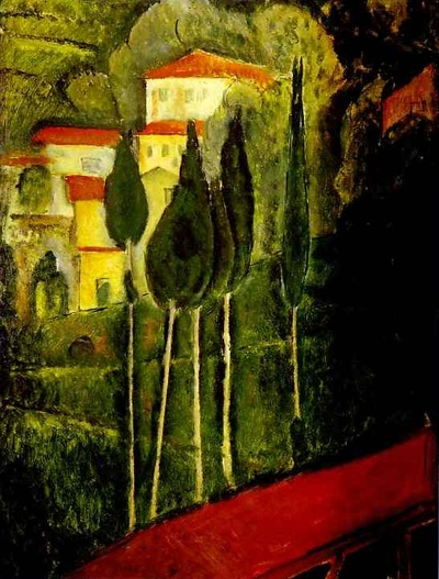 Amedeo Modigliani <1919, Landscape>