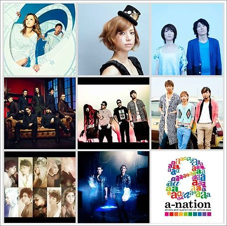 a-nation, 'stadium fes.'의 모습을 WOWOW로..