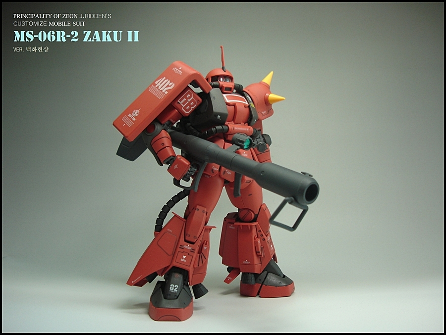 10)[마감제작]MG자쿠2 2.0 MS-06R-2형 고기동..