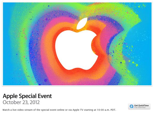 apple iPad mini 이벤트