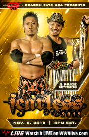 Dragon Gate USA 2012.11.02 Fearless 리뷰