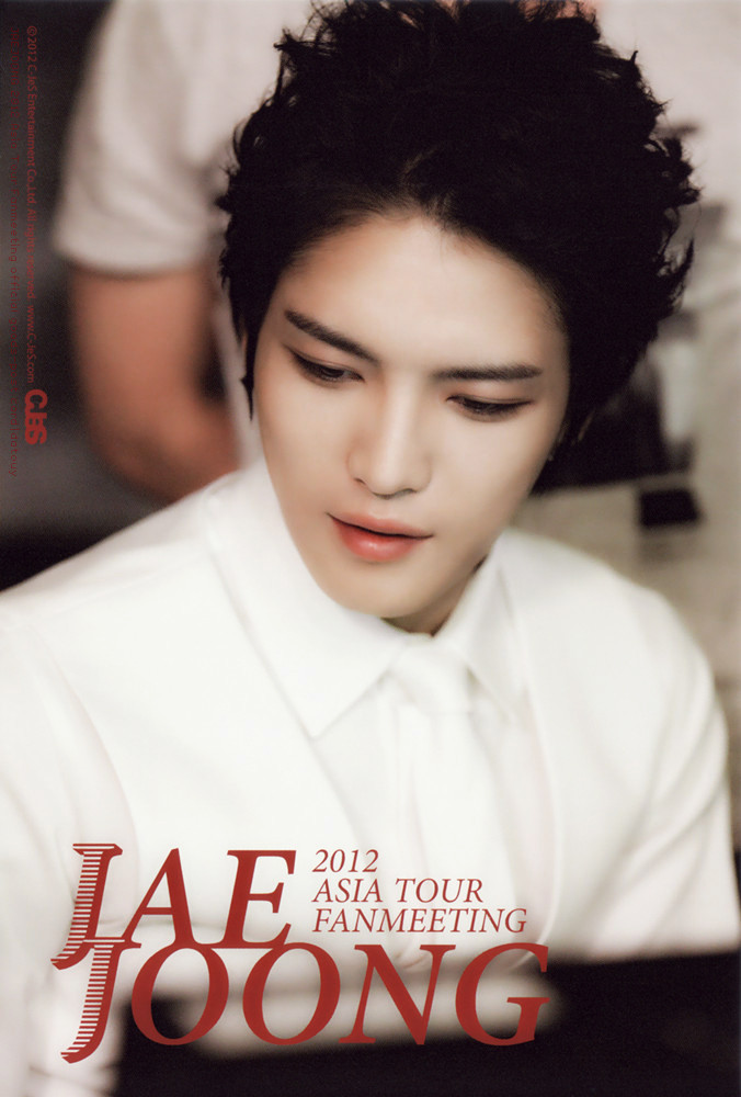 Kimjaejoong 2012 Asia Tour Fanmeeting official..