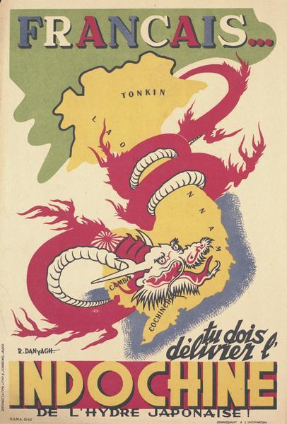 프랑스의 선전용 포스터에서 볼 수 있는 오리엔탈리즘