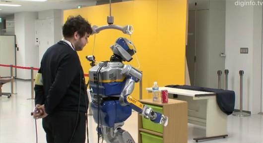 프랑스-일본이 뇌파제어식 로봇을 개발.