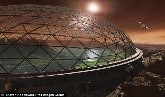 엘론 머스크의 화성 식민지 계획.
