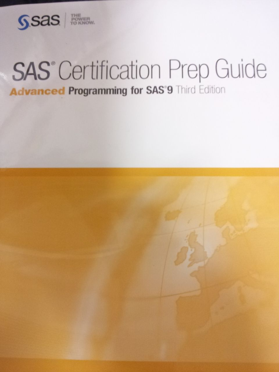 SAS Certification Prep Guide Advanced Prog..