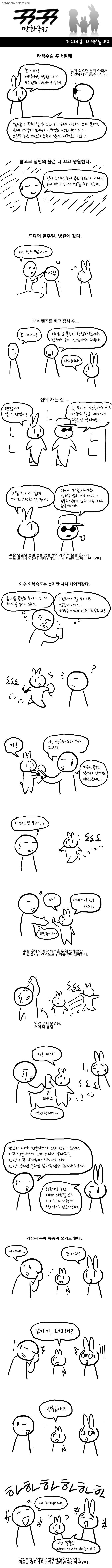 뀨뀨만화극장 - 제224뀨. 라섹수술 #2
