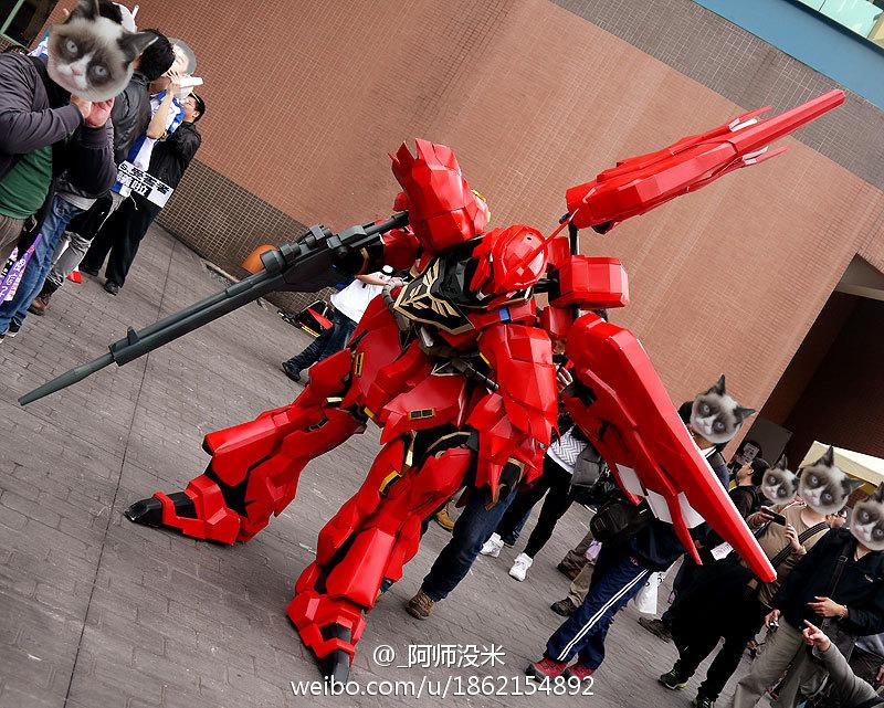 타이완의 'Fancy Frontier21' 행사에서 촬영된 코..