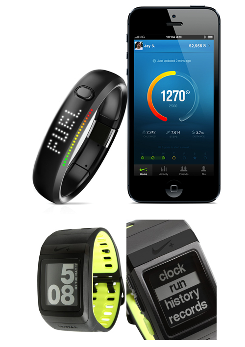 [악세사리] nike+ fuel band, GPS watch