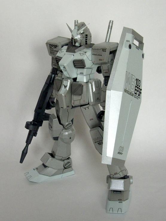 RX-78-3 G3 완성.
