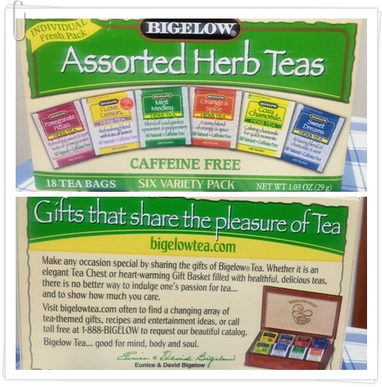 [아이허브] Bigelow Assorted Herb Teas, Si..