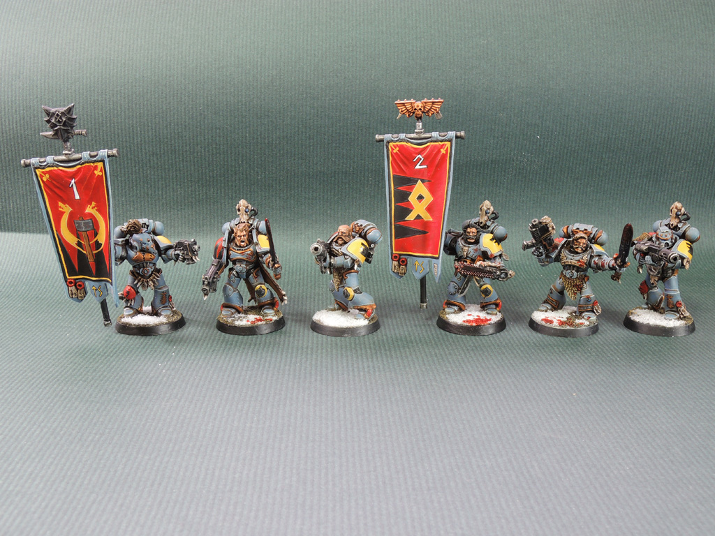 [WHM40K] Space Wolves Reinforcement!