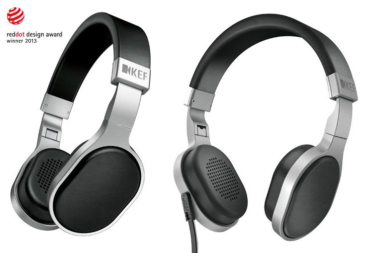 KEF에서 헤드폰과 이어폰도 내놓는군요.