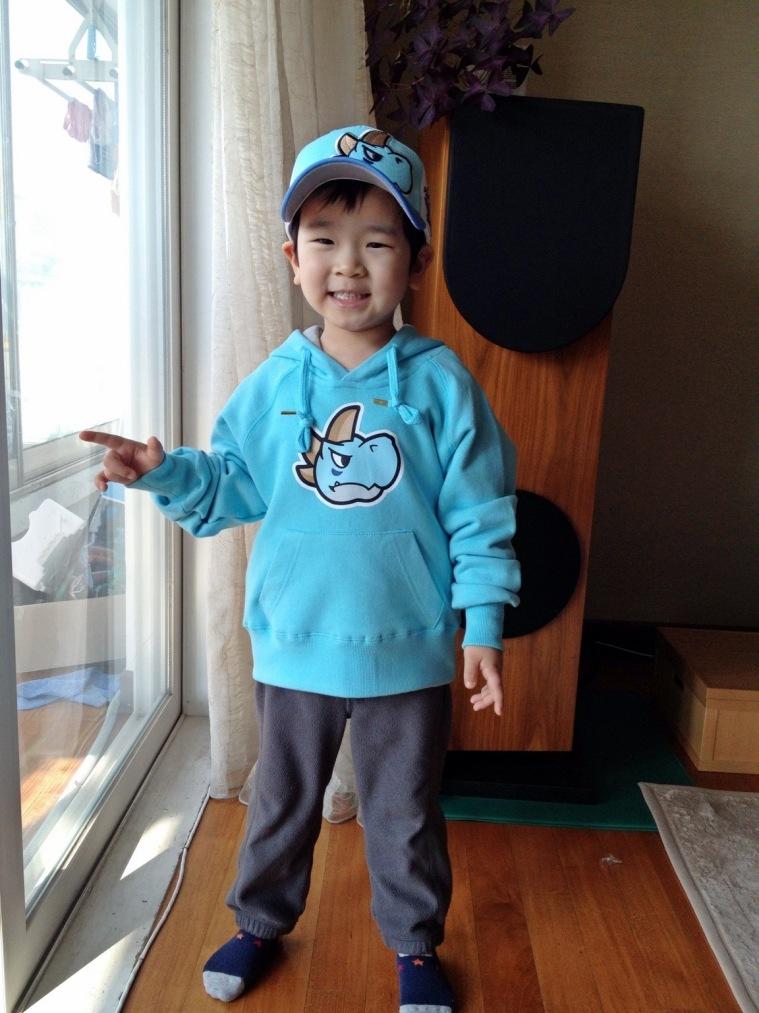 5월에는 더욱 행복한 어린이 김지유.