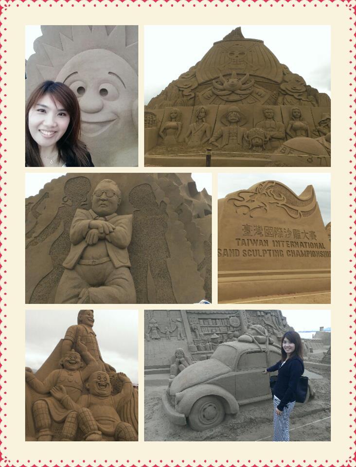 모래조각 작품에 PSY 강남스타일이 있어 올려봅니다.