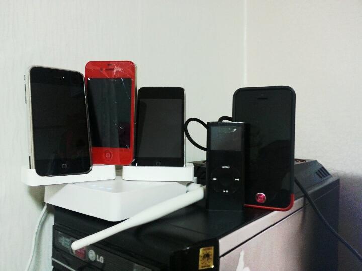 나의 애플 기기들...
