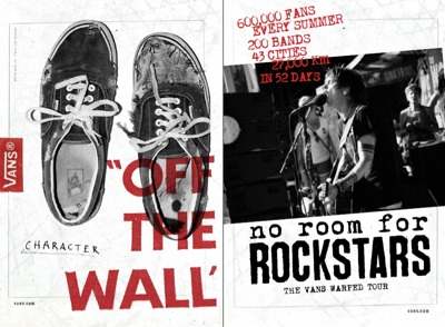 No Room for Rockstars - The Vans Warped..