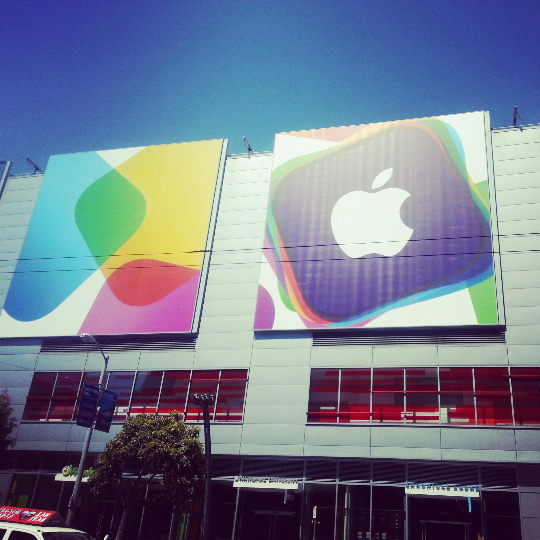 WWDC 단장하는 Moscone Center 주변