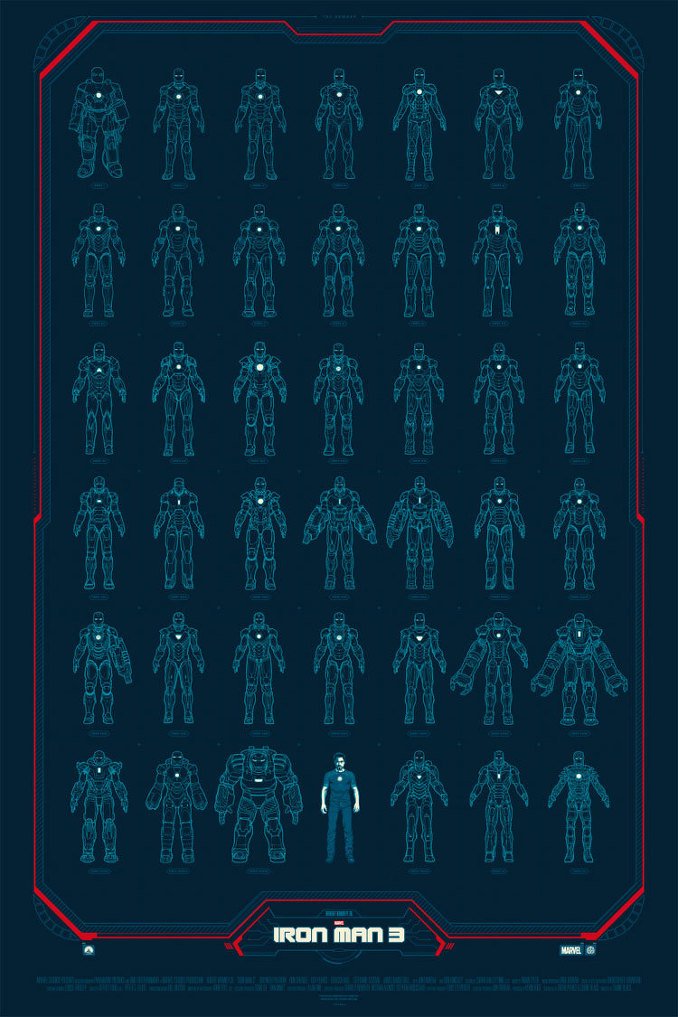 130505 목동메가박스 아이언맨 Iron Man 3 (2013)