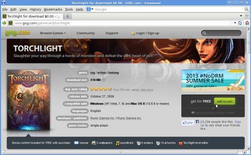 토치라이트(Torchlight) 풀버전 - GOG.com에..