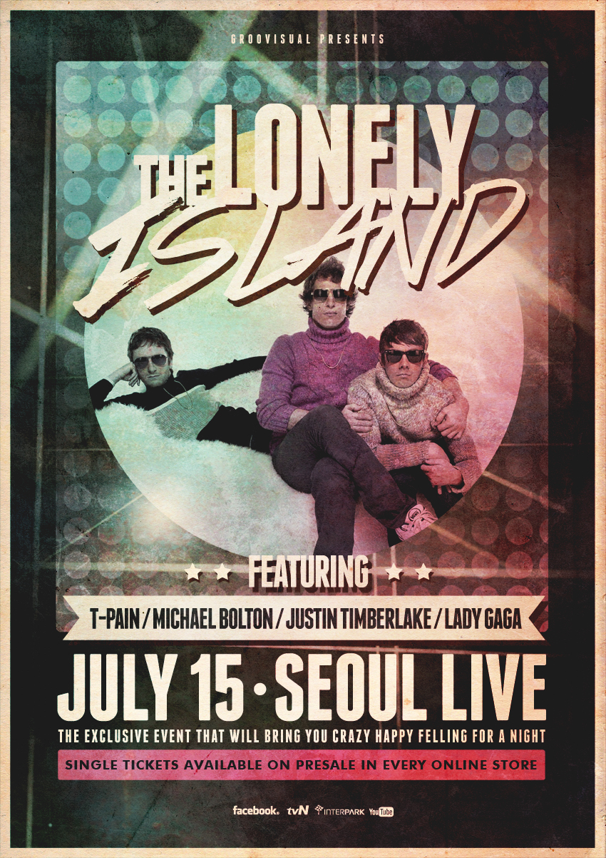 The Lonley Island Live Poster