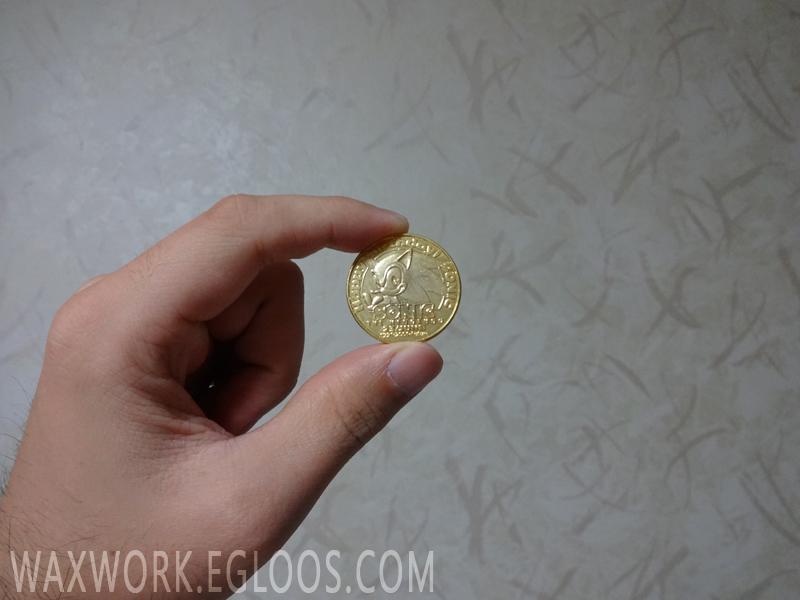 세가의 마스코트, 소닉 10주년 기념주화